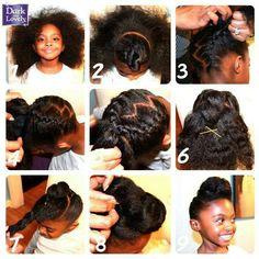 Strange 1000 Images About Natural Hair On Pinterest Cornrow Crochet Short Hairstyles For Black Women Fulllsitofus