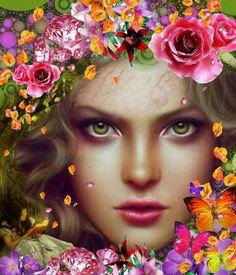 Somos como una flor 🌷made with Bazaart