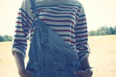 Stripes and dungarees