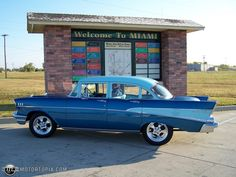 1957 chevy 210 | Photo of a 1957 Chevrolet 210 (Blue Fin 210)