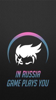 Overwatch - Zarya Mobile Wallpaper