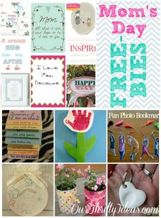 Free Mother's Day Printables  |  Our Thrifty Ideas