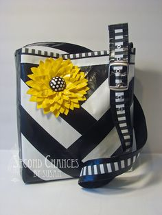 It is made from duct tape!!! that takes alot of skill!! This website also has alot more amazing and cute purses from duct tape