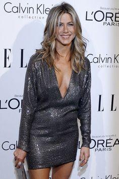 Jennifer Aniston en mini-robe Kaufmanfranco en 2011