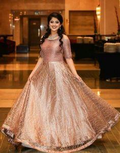 Super dress long party maids ideas Source by malviruhela dresses indian Indian Wedding Gowns, Indian Gowns Dresses, Indian Bridal Outfits, Lehnga Dress, Frock Dress, Lehenga Gown, Dress Skirt, Long Gown Dress, The Dress