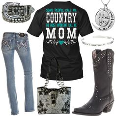 Most Important Call Me Mom Outfit - Real Country Ladies