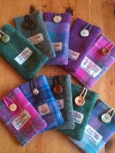 Harris tweed phone cases