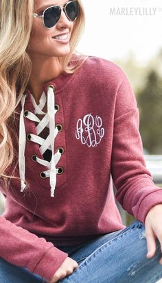 The perfect solution to those cool summer nights! #summeroutfits #monogrammedoutfits #monogramstyle