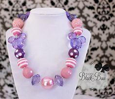 DAISY DUCK Rapunzel Sofia Chunky Necklace by ChunkyStuffByLBB