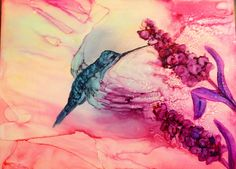 Laurie Henry ALCOHOL INK
