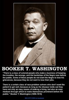 Brooker T. Washington was a famous civil rights activist. He focused on a key part of the segregation- the rights to a proper education that were being denied to the African American youth. He built and funded the Tuskegee Institute which had a positive impact on the American society. African Americans especially benefited.