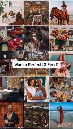 sweetlikeoyin on TikTok Best Instagram Feeds, Instagram Feed Ideas Posts, Instagram Feed Layout, Instagram Plan, Creative Instagram Stories, Instagram And Snapchat, Instagram Themes Ideas, Instagram Aesthetic Ideas, Ig Feed Ideas