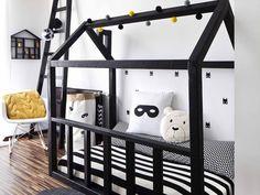 Toddler Boy Room Decor, Baby Boy Rooms, Baby Bedroom, Kids Bedroom, House Beds For Kids, Kid Beds, Kids Room Furniture, Bedroom Furniture Design, Cool Kids Rooms