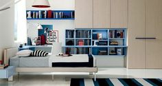 Foto: Una cameretta da sogno, elegante e ricercata  #Euromobil  #camerette #ragazzi