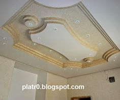 Salon marocain deco salon and salons on pinterest for Model faux plafond platre