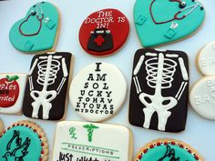 Cool cookies for the nurse or doctor!