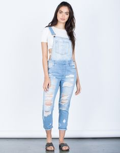 Designer Clothes, Shoes & Bags for Women Black Overalls Outfit, Womens Denim Overalls, Denim Jumpsuit, Dungarees, Boho Summer Outfits, Winter Fashion Outfits, Teen Fashion, Striped Backpack, Metallic Sneakers