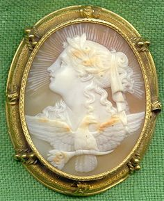 Allegory of the Day Cameo