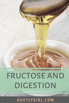 Fructose and Digestion agutsygirl.com #sugar #fructose #ibs #guthealth #digestion