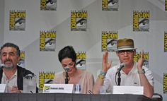 2011 San Diego Comic-Con panel for the SyFy Channel television show, Warehouse 13.     I like this one