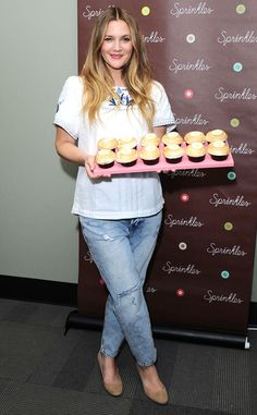 Drew Barrymore from The Big Picture: Today's Hot Pics  Sweet treats! The actress launches a new strawberry shortcake cupcake for Sprinkles in Beverly Hills, benefitting United Friends of the Children.