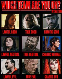 Writing archetypes and Z nation my life's complete