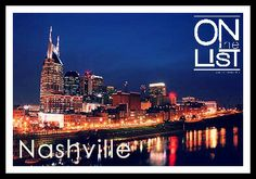 The Music City has so much to offer! Check out OntheList for complimentary shows, events and entertainment! #OntheList #NashvilleEntertainment