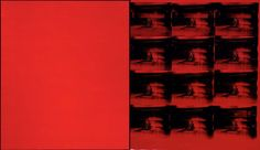 Warhol, Andy - Red Disaster - Museum of Fine Arts, Boston