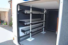 regalsysteme f r transporter transportereinrichtung. Black Bedroom Furniture Sets. Home Design Ideas