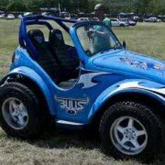 Entry from Samuel Aspeling of an awesome Blue Bulls inspired vehicle :) - http://on.fb.me/XkyP22
