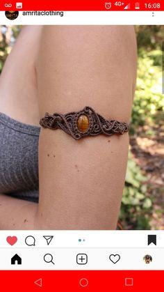 Macrame Necklace, Macrame Jewelry, Macrame Bracelets, Handmade Bracelets, Handmade Jewelry, Macrame Art, Macrame Knots, Macrame Tutorial, Bracelet Tutorial