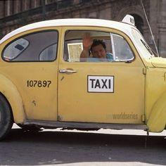 Bocho taxi in Mexico City
