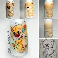 Crazy Nail Art, Crazy Nails, Fancy Nails, Cute Nails, Pretty Nails, Animal Nail Designs, Animal Nail Art, Nail Art Designs, Nail Art Blog