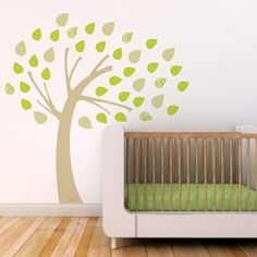 Windy Tree Wall Decal - Trendy Peas
