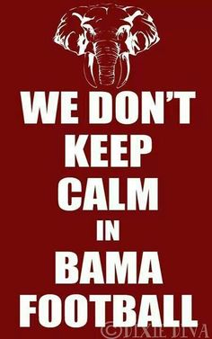 We don't keep calm. RTR!!