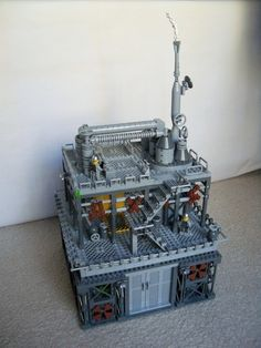 Chemical Plant: A LEGO® creation by Li Li : MOCpages.com