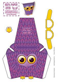 Made in Paperland: Совушка-сова из бумаги