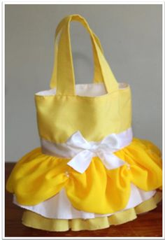 Princess Belle inspired childrens handbag. by Bags4Bella on Etsy, $25.00