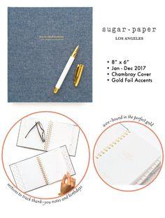 sugar paper weekly planner, 2017 | simple pretty