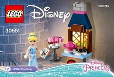 Nouveau polybag Disney : 30551 Cinderella's Kitchen: C'est à la faveur de la mise en ligne par LEGO d'une série de fichiers… #LEGO