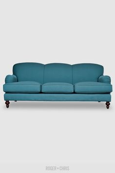 We dare you to compare our English roll arm sofa to Restoration Hardware's. Ours is more affordable, completely customizable, dramatically more durable, and proudly made in the U.S.A.