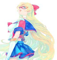 セーラーV / 愛野美奈子 SailorV / Minako Aino by kooh - Sailor Moon fanart