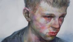 """Japanese artist 'XHXIX' creates beautiful digital paintings capturing the melancholy of youth in striking detail. If you want to know more about 'XHXIX' you might have to dig a little further... """"To people who wish to ask me who I am, I do not intend to disclose my real name, sex and age.""""... mysterious."""