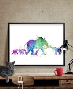 Print aquarelle éléphant, éléphant Art Print, Art aquarelle, aquarelle animaux, Elephant Home Decor sticker, Elephant peinture impression ------------------------------------------------------------------------------------------------ Tailles disponibles sont indiqués dans la sélectionner une taille liste déroulante au-dessus du bouton Ajouter au panier ------------------------------------------------------------------------------------------------  ♥ TAILLE (tailles Standard, sadapter dans…