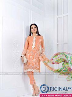 Gul Ahmed Luxury Festive Collection 2017 - Original Online Shopping Store Whatsapp: 00923452355358 Website: www. Pakistani Casual Wear, Pakistani Bridal Wear, Fashion 2017, Dress Fashion, Womens Fashion, Pakistan Fashion, Online Shopping Stores, Salwar Kameez, Indian Fashion