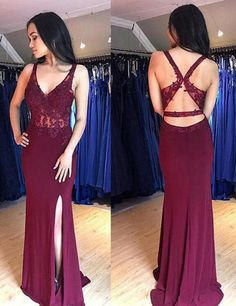 Sexy V Neck Mermaid Maroon Open Back Long Evening Prom Dresses, Cheap Sweet 16 Dresses Off Shoulder Dusty Champagne Lace Cheap Long Evening Prom Dresses, Eve Fitted Prom Dresses, Prom Girl Dresses, Mermaid Evening Dresses, Cheap Prom Dresses, Homecoming Dresses, Grad Dresses, Party Dresses, Prom Gowns, Formal Dresses