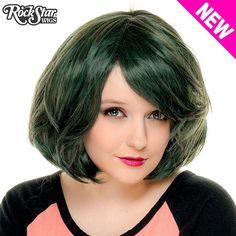 """RockStar Wigs® <br> Hologram 12"""" - Black Jade -00654"""