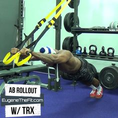Try This Move To Challenge Your Entire Core Insanity Workout Videos, Trx Ab Workout, Trx Full Body Workout, Trx Abs, Gym Workout Videos, Abs Workout Routines, Gym Workouts, Kettlebell, Sixpack Training