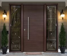 Entrance Doors Designs Modern Door Design: Contemporary Aluminium Front Doors