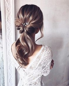 55 wedding hairstyles for the elegant bride gorgeous 2019 13 – Hair Styles Formal Hairstyles, Bride Hairstyles, Easy Hairstyles, Hairstyle Ideas, Gorgeous Hairstyles, Hairstyle Short, Teenage Hairstyles, Curly Haircuts, Hair Ideas